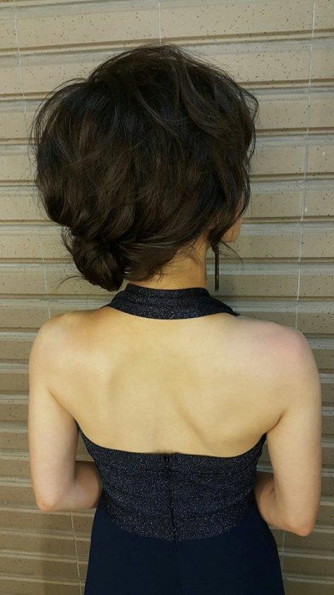 美艷名媛造型妝髮-台北新秘小葳