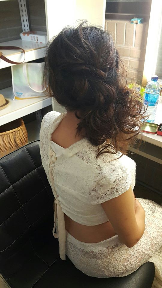 孕媽咪造型妝髮-台北新秘小葳