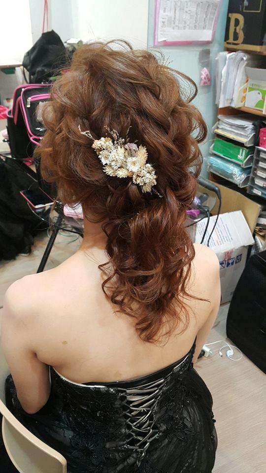新娘造型妝髮推薦-新秘小葳