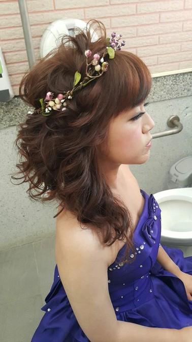 花環頭飾公主造型-新秘小葳