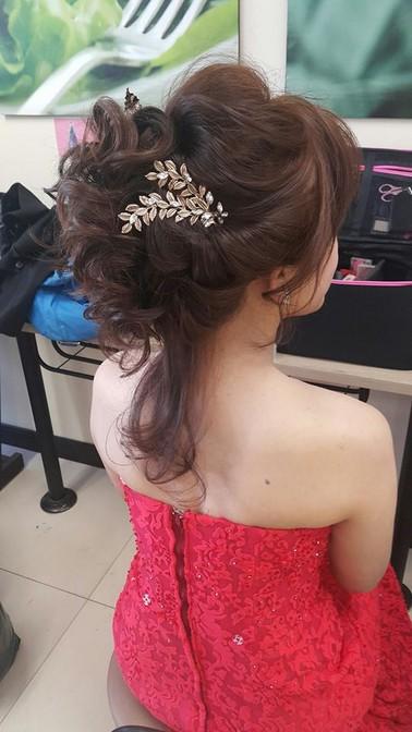 新娘妝髮分享-台北新秘小葳