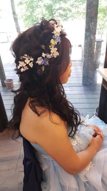 【公主頭造型變化】台北新秘小葳推薦