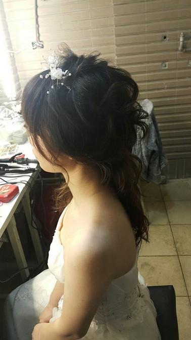 甜美風格造型妝髮-台北新秘小葳