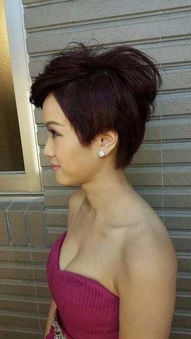 俏麗短髮造型推薦-新秘小葳