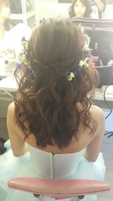花環造型甜美公主風格-新秘小葳