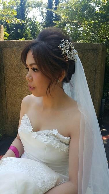 新娘造型作品集-台北新秘小葳