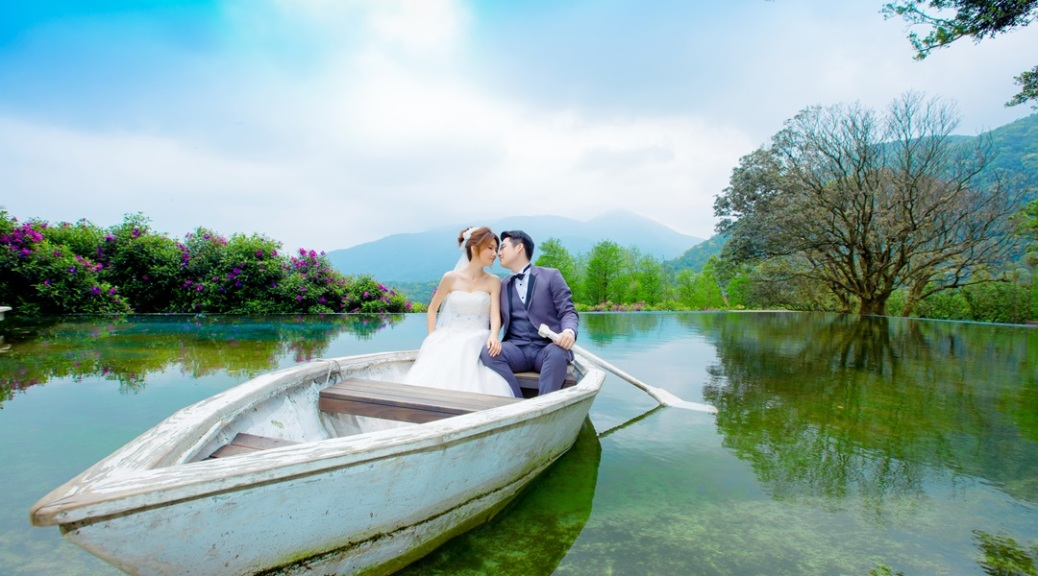 [白紗造型]湖畔婚紗外拍