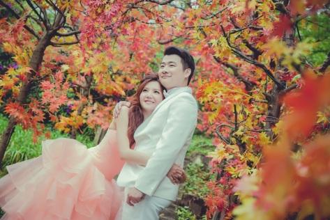 [大自然婚紗]浪漫造型妝髮
